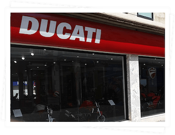 in 2015 Grupo Domingo Alonso became the importer and distributor for the Premium brand of motorcycles Ducati