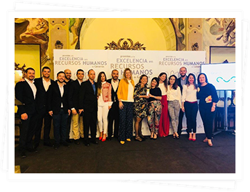 Domingo Alonso Group receives the Canary Islands Award for Human Resources Excellence for its People in DAG Project. The four main pillars 'DAG Academy', 'Work & OHP', 'Selection and Development' and 'Infant School' have developed a HR policy that is pursuing the success and motivation in the management of people.