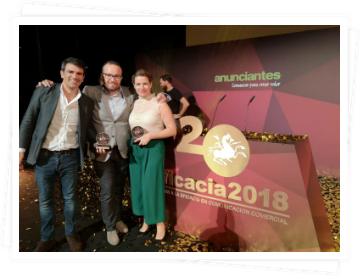 The Two agency is awarded a Bronze EFI in the XX edition of the Efficacy Awards, the only awards in Spain that focus on the results achieved thanks to the communication actions of the brands, with the Make it Easy campaign of Hyundai Canarias in the category Best Regional Local Campaign.